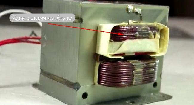 Трансформатор для микроволновки своими руками 48