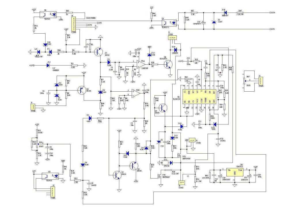 схема полуавтомата ресанта саипа 165