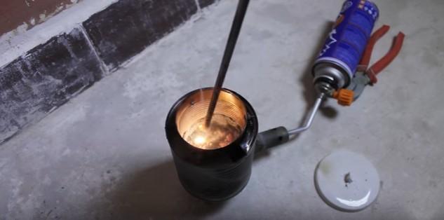 Как плавить алюминий в домашних условиях