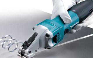Шлицевые ножницы по металлу: устройство, виды, основные параметры
