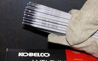 Характеристики сварочных электродов «Kobelco» марки «LB-52U»