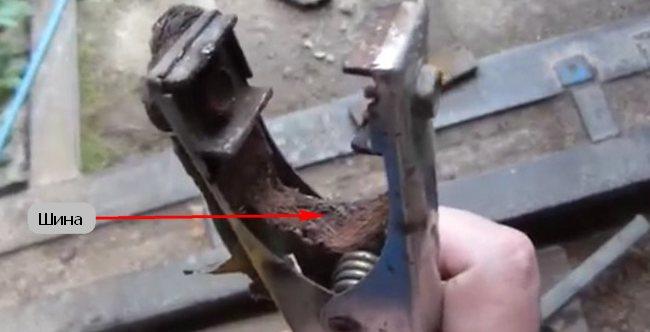 клемма с шиной