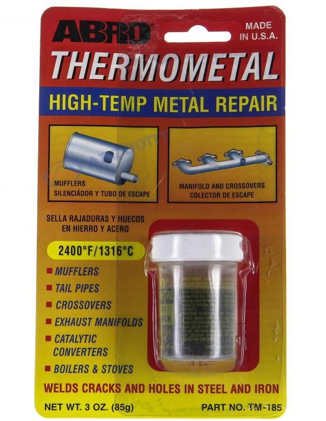 Какую температуру выдерживает холодная сварка для металла