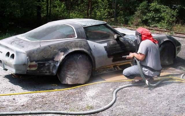 очищение авто от ржы