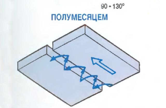 иллюстрация полумесяцем
